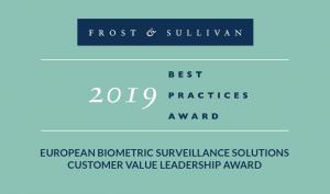 Herta Security nhận giải thưởng FROST & SULLIVAN Châu Âu hạng mục sinh trắc học xuất sắc